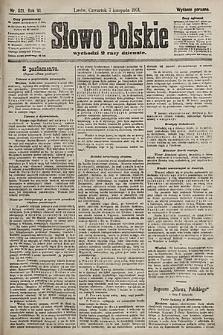 Słowo Polskie (wydanie poranne). 1901, nr521