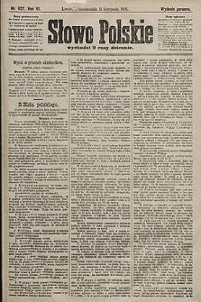 Słowo Polskie (wydanie poranne). 1901, nr527