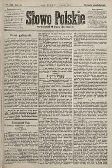 Słowo Polskie (wydanie popołudniowe). 1901, nr534