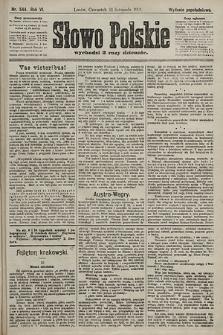 Słowo Polskie (wydanie popołudniowe). 1901, nr544