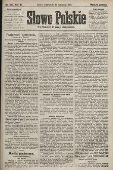Słowo Polskie (wydanie poranne). 1901, nr557