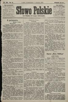 Słowo Polskie (wydanie poranne). 1901, nr563