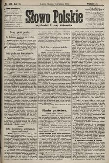 Słowo Polskie (wydanie poranne). 1901, nr573