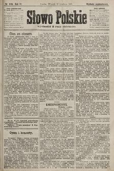 Słowo Polskie (wydanie popołudniowe). 1901, nr576