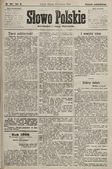 Słowo Polskie (wydanie popołudniowe). 1901, nr582