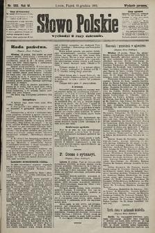 Słowo Polskie (wydanie poranne). 1901, nr583