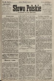 Słowo Polskie (wydanie popołudniowe). 1901, nr588