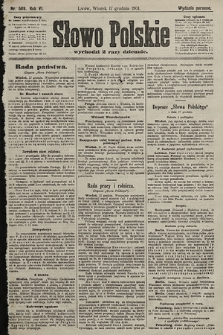 Słowo Polskie (wydanie poranne). 1901, nr589
