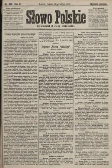 Słowo Polskie (wydanie poranne). 1901, nr595