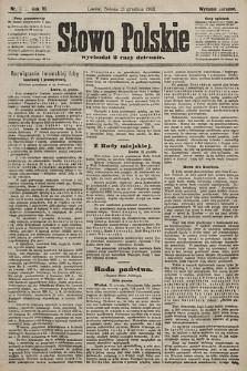 Słowo Polskie (wydanie poranne). 1901, nr597