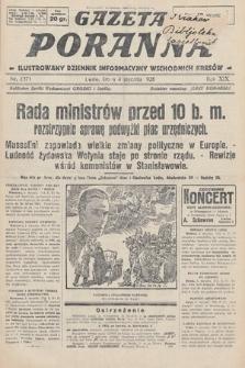 Gazeta Poranna : ilustrowany dziennik informacyjny wschodnich kresów. 1928, nr8371