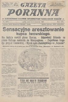 Gazeta Poranna : ilustrowany dziennik informacyjny wschodnich kresów. 1928, nr8375