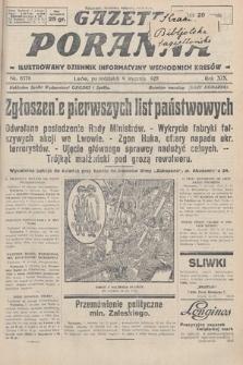 Gazeta Poranna : ilustrowany dziennik informacyjny wschodnich kresów. 1928, nr8376