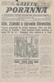 Gazeta Poranna : ilustrowany dziennik informacyjny wschodnich kresów. 1928, nr8378