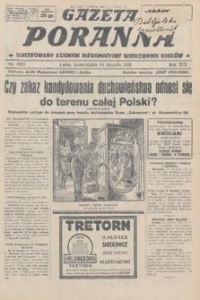 Gazeta Poranna : ilustrowany dziennik informacyjny wschodnich kresów. 1928, nr8383