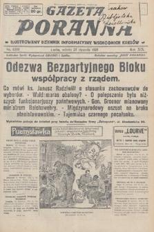 Gazeta Poranna : ilustrowany dziennik informacyjny wschodnich kresów. 1928, nr8388