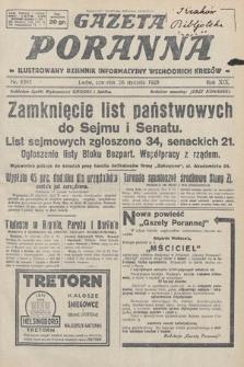 Gazeta Poranna : ilustrowany dziennik informacyjny wschodnich kresów. 1928, nr8393