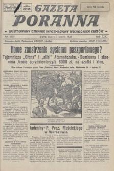 Gazeta Poranna : ilustrowany dziennik informacyjny wschodnich kresów. 1928, nr8401