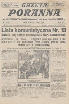 Gazeta Poranna : ilustrowany dziennik informacyjny wschodnich kresów. 1928, nr8403