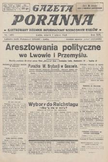 Gazeta Poranna : ilustrowany dziennik informacyjny wschodnich kresów. 1928, nr8405