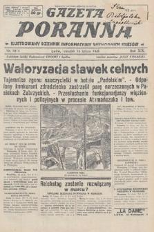Gazeta Poranna : ilustrowany dziennik informacyjny wschodnich kresów. 1928, nr8414