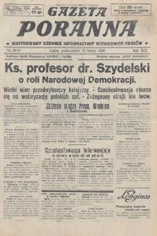 Gazeta Poranna : ilustrowany dziennik informacyjny wschodnich kresów. 1928, nr8418