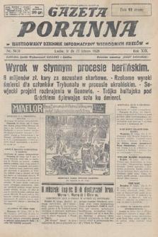 Gazeta Poranna : ilustrowany dziennik informacyjny wschodnich kresów. 1928, nr8420