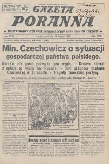 Gazeta Poranna : ilustrowany dziennik informacyjny wschodnich kresów. 1928, nr8421