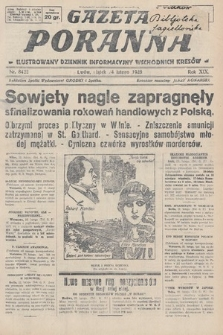 Gazeta Poranna : ilustrowany dziennik informacyjny wschodnich kresów. 1928, nr8422