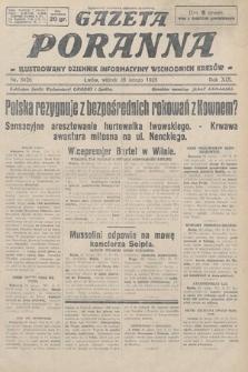 Gazeta Poranna : ilustrowany dziennik informacyjny wschodnich kresów. 1928, nr8426