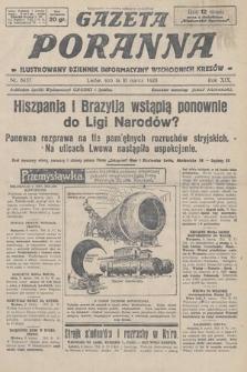 Gazeta Poranna : ilustrowany dziennik informacyjny wschodnich kresów. 1928, nr8437