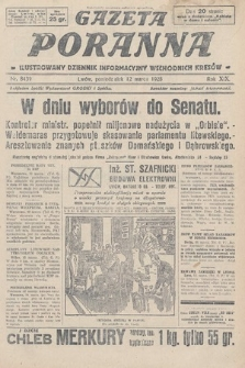 Gazeta Poranna : ilustrowany dziennik informacyjny wschodnich kresów. 1928, nr8439