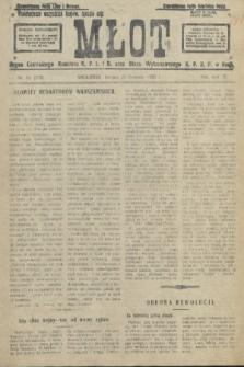 Młot : organ Centralnego Komitetu K. P. L. i B. oraz Biura Wykonawczego K. P. R. P. w Rosji. 1920, nr39
