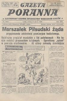 Gazeta Poranna : ilustrowany dziennik informacyjny wschodnich kresów. 1928, nr8444