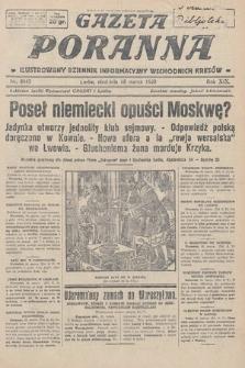 Gazeta Poranna : ilustrowany dziennik informacyjny wschodnich kresów. 1928, nr8445