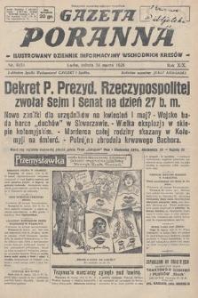 Gazeta Poranna : ilustrowany dziennik informacyjny wschodnich kresów. 1928, nr8451