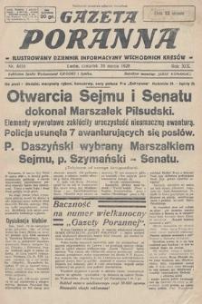 Gazeta Poranna : ilustrowany dziennik informacyjny wschodnich kresów. 1928, nr8456