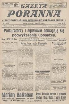 Gazeta Poranna : ilustrowany dziennik informacyjny wschodnich kresów. 1928, nr8461
