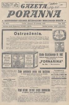 Gazeta Poranna : ilustrowany dziennik informacyjny wschodnich kresów. 1928, nr8475