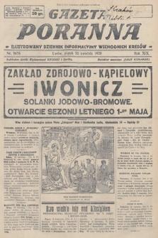 Gazeta Poranna : ilustrowany dziennik informacyjny wschodnich kresów. 1928, nr8476