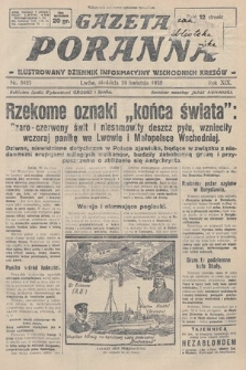 Gazeta Poranna : ilustrowany dziennik informacyjny wschodnich kresów. 1928, nr8485