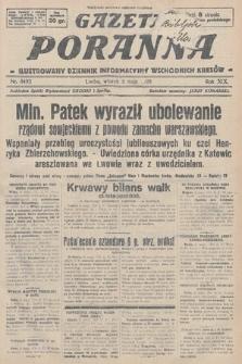 Gazeta Poranna : ilustrowany dziennik informacyjny wschodnich kresów. 1928, nr8493