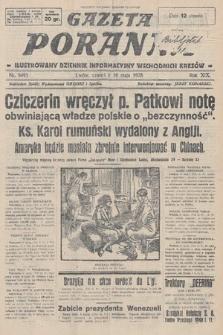 Gazeta Poranna : ilustrowany dziennik informacyjny wschodnich kresów. 1928, nr8495