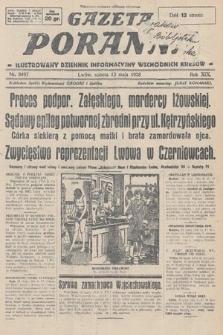 Gazeta Poranna : ilustrowany dziennik informacyjny wschodnich kresów. 1928, nr8497