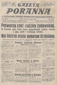Gazeta Poranna : ilustrowany dziennik informacyjny wschodnich kresów. 1928, nr8500