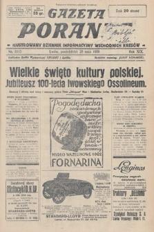 Gazeta Poranna : ilustrowany dziennik informacyjny wschodnich kresów. 1928, nr8513