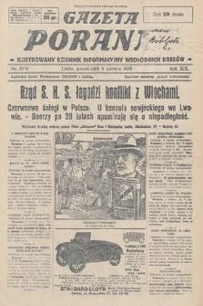 Gazeta Poranna : ilustrowany dziennik informacyjny wschodnich kresów. 1928, nr8519