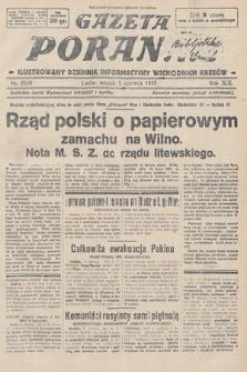 Gazeta Poranna : ilustrowany dziennik informacyjny wschodnich kresów. 1928, nr8520