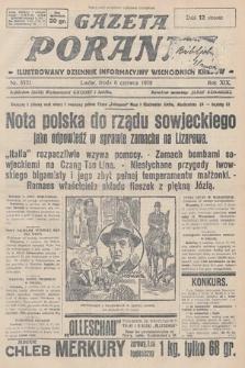 Gazeta Poranna : ilustrowany dziennik informacyjny wschodnich kresów. 1928, nr8521