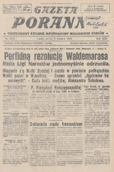 Gazeta Poranna : ilustrowany dziennik informacyjny wschodnich kresów. 1928, nr8524